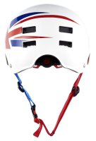 BLUEGRASS Dirt-Helm Super Bold Glossy White Union Jack -...