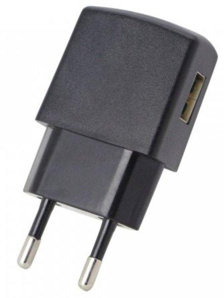 fontastic USB-Ladegerät 1,0A für Handy und Kleingeräte schwarz