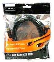 VIVANCO PRO 14HDHD 20PB High Speed HDMI-Kabel 2m...